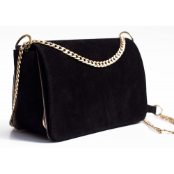 Square leather bag