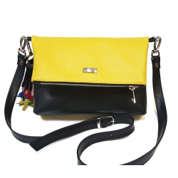Yello leather bag