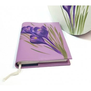 Leather coveragenda Iris II